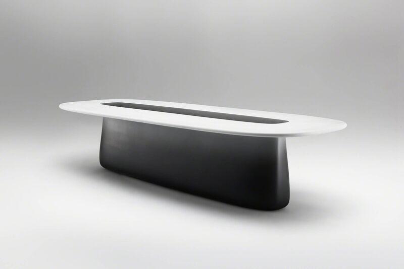 Mattia Bonetti, 'Dining Table, 'Introspection'', 2012, Design/Decorative Art, Fibreglass, sprayed gradient laquer, acrylic, David Gill Gallery