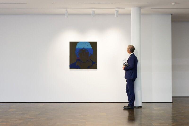Andy Warhol, 'Harald (Toni) Schumacher', 1983, Print, Colour silkscreen on Lenox museum board, Van Ham