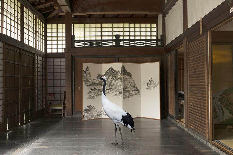 Karen Knorr, 'Towards Nirvana, Shunko- in Temple , Tokyo', 2015, Photography, Print on Hannemuhle Fine Art Pearl paper, Galerie Les filles du calvaire