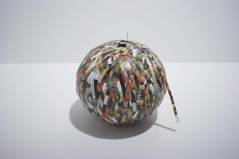 Stefana McClure, 'Cézanne's Apples', 2009, Sculpture, Cut paper, Josée Bienvenu