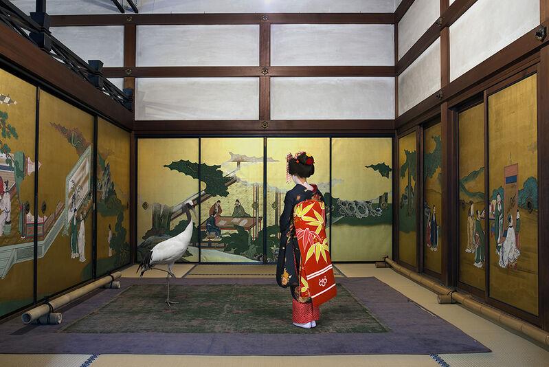 Karen Knorr, 'Akirame Shunko - in Temple , Kyoto', 2015, Photography, Print on Hannemuhle Fine Art Pearl paper, Galerie Les filles du calvaire