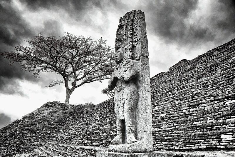 William Frej, 'Tonina, Chiapas, Mexico', 2015, Photography, Archival Chromogenic Silver Halide Print, Peyton Wright Gallery