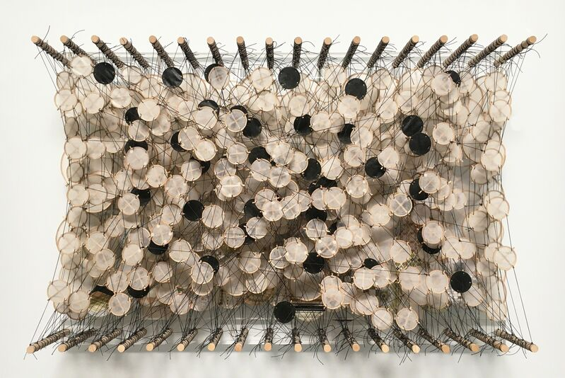 Jacob Hashimoto, 'Untitled', 2013-2016, Sculpture, Wood, Acrylic, bamboo, paper, and Dacron, D2 Art