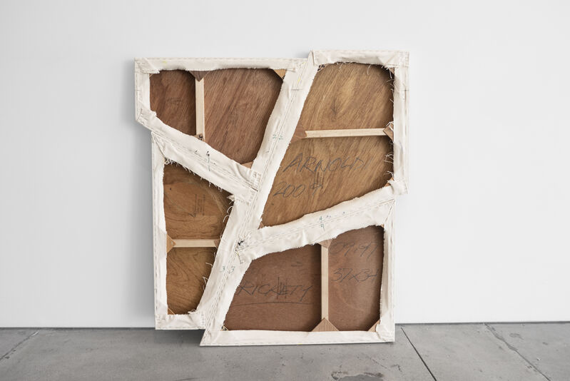 Charles Arnoldi, 'Rickety', 2009, Painting, Acrylic on canvas, Peter Blake Gallery