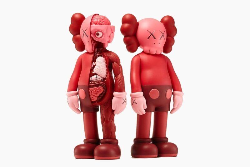 KAWS, 'Companion Set (Blush)', 2016, Other, The set of two painted cast vinyl multiples, Forum Auctions