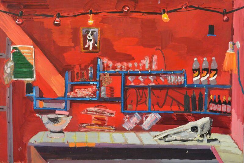 Boaz Noy, 'Bartagnian', 2014, Painting, Oil on board, Rosenfeld Gallery