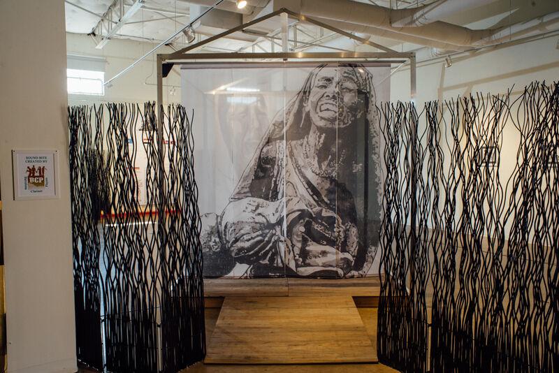 Robert Barsamian, 'Collateral/Innocents', 2019, Installation, Mixed media, Conduit Gallery