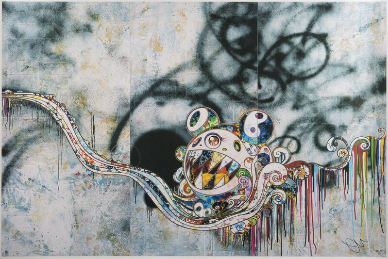 Takashi Murakami, '727999', 2016, Print, Offset lithograph on paper, Julien's Auctions