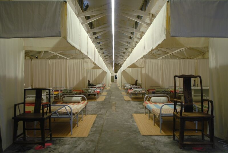 Ai Weiwei, 'Fairytale', 2007, Installation, 1001 Chinese Visitors, Gottschalk-Hallen, ladies dormitory, mixed media, Galerie Urs Meile