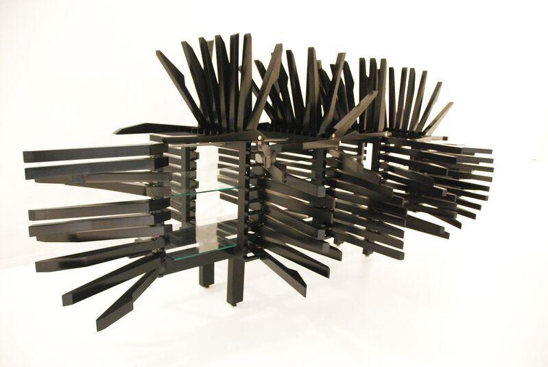 Sebastian Errazuriz, 'Porcupine Cabinet', 2010, Design/Decorative Art, Wood, metal and glass, Cristina Grajales Gallery