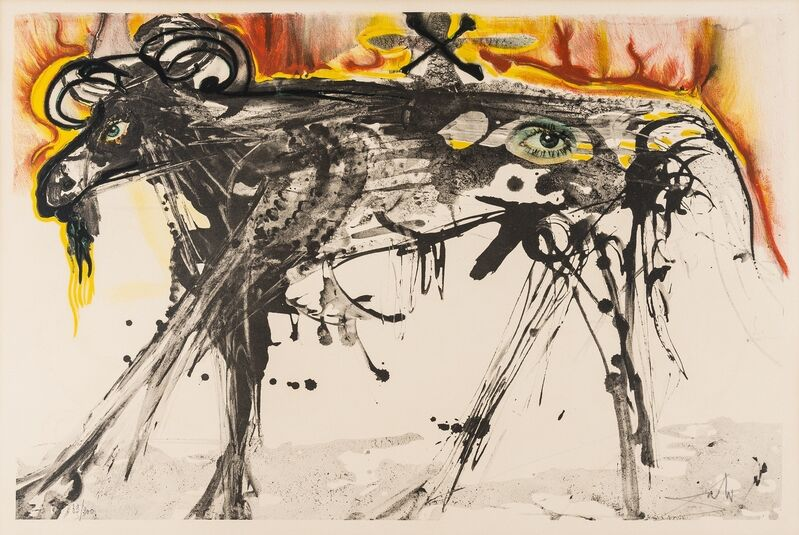 Salvador Dalí, 'The Ram (Homage to Gerrit Dou) (Field 71-1)', 1971, Print, Lithograph printed in colours, Forum Auctions