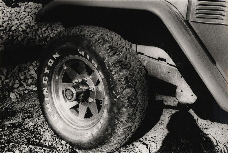 Daido Moriyama, 'Jeep, Tachikawa City (No. 2164)', 1982, Photography, Gelatin silver print, vintage, Galerie Bob van Orsouw