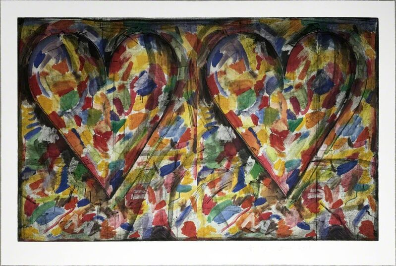 Jim Dine, 'Years Ago', 2015, Print, Offset lithograph and soft ground etching, Hamilton-Selway Fine Art