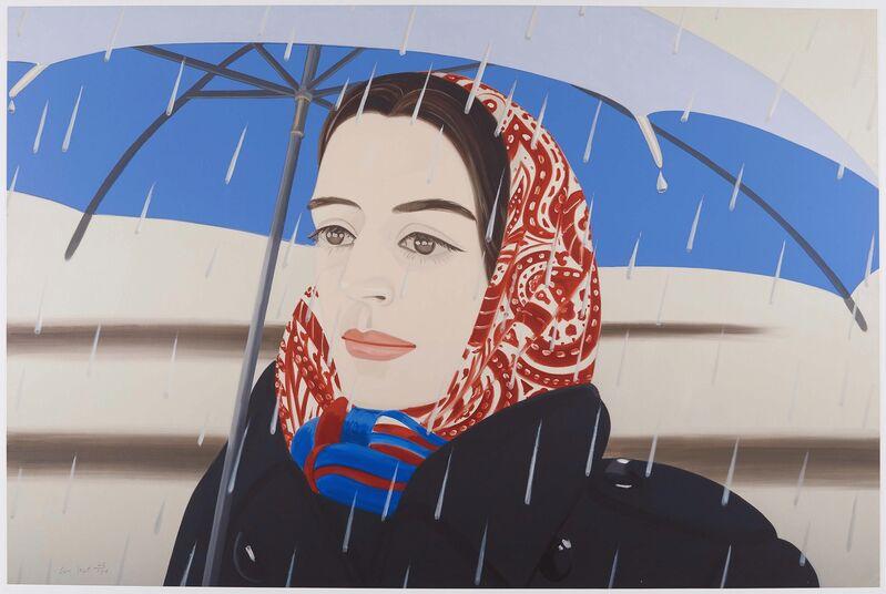 Alex Katz, 'Blue Umbrella 2', 2020, Print, Archival pigment inks on Crane Museo Max 365 gsm fine art paper, Van Ham