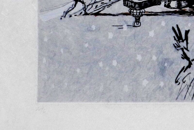 Salvador Dalí, 'Tauramachie Surrealiste The Piano In The Snow', 1970, Print, Etching, Fine Art Acquisitions Dali