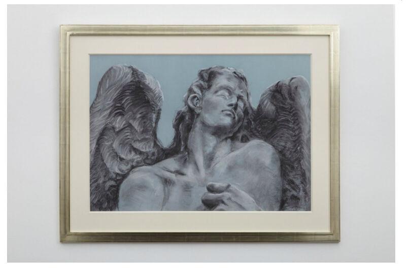 Rachel Feinstein, 'Cemetery Angel Zurich', 2012, Painting, Pastel on paper, Galerie Mitterrand