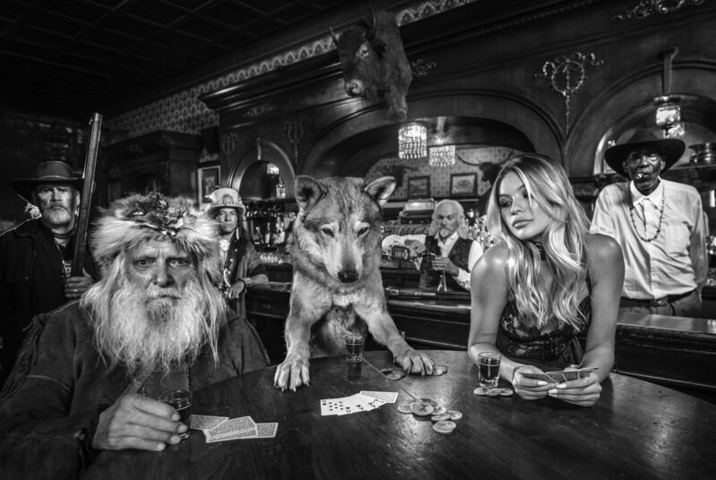 David Yarrow, 'Aces and Eights', 2020, Photography, Archival Pigment Print, Samuel Lynne Galleries