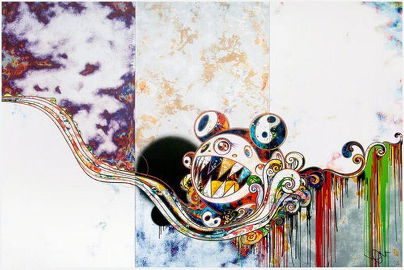 Takashi Murakami, '727772', 2016, Print, Offset lithograph, Cerbera Gallery