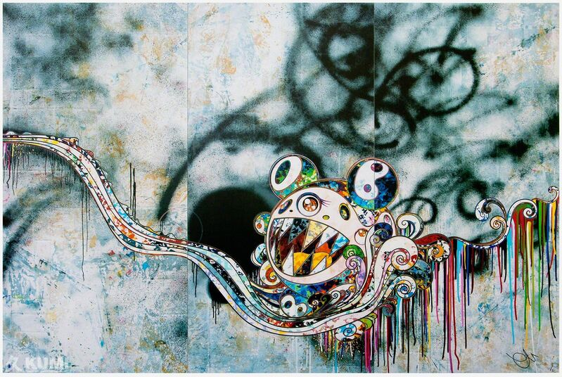 Takashi Murakami, '727999', 2016, Print, Lithograph, Kumi Contemporary / Verso Contemporary
