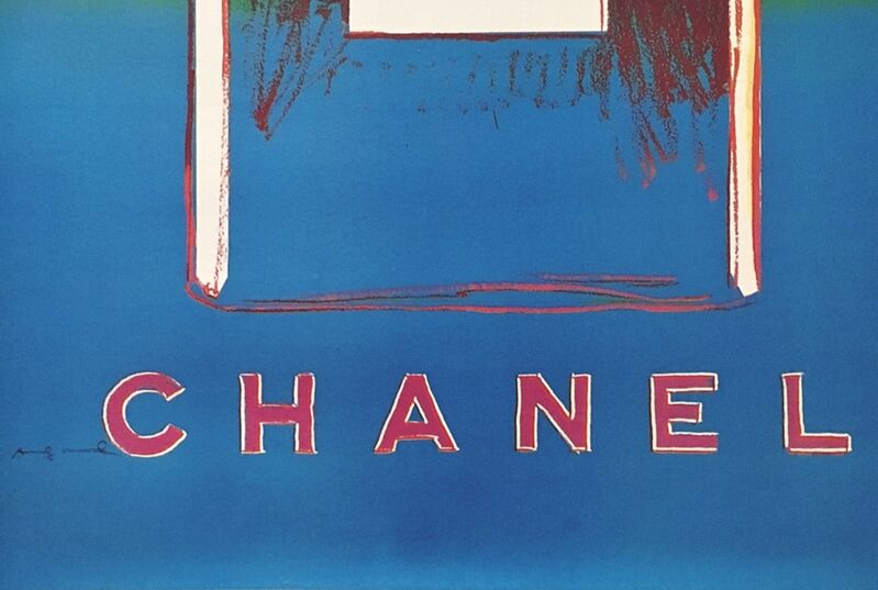Andy Warhol, 'Chanel No. 5 (Suite of Four Individual (Separate) Prints on Linen Canvas)', 1996, Print, Suite of Four (4) Separate Individual Limited Edition Offset lithographs in colors on wove paper affixed to elegant thin linen canvas backing, Each plate signed Andy Warhol. Unframed, Alpha 137 Gallery
