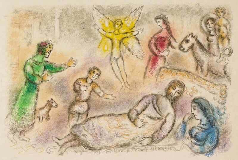 Marc Chagall, 'Peace Rediscovered (M.830, L'Odyssée)', 1974, Print, Lithograph, Martin Lawrence Galleries