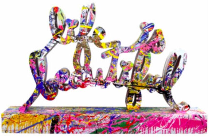 Mr. Brainwash, 'Life Is Beautiful', 2017, Sculpture, Collage on Enameled Steel, Eternity Gallery