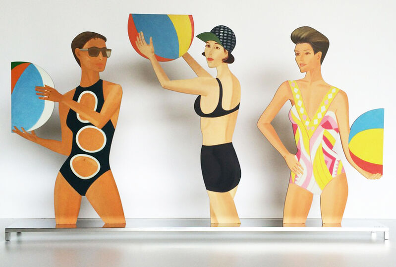 Alex Katz, 'Chance', 2016, Sculpture, Baked, archival UV inks on shaped, powder coated aluminum, Vertu Fine Art