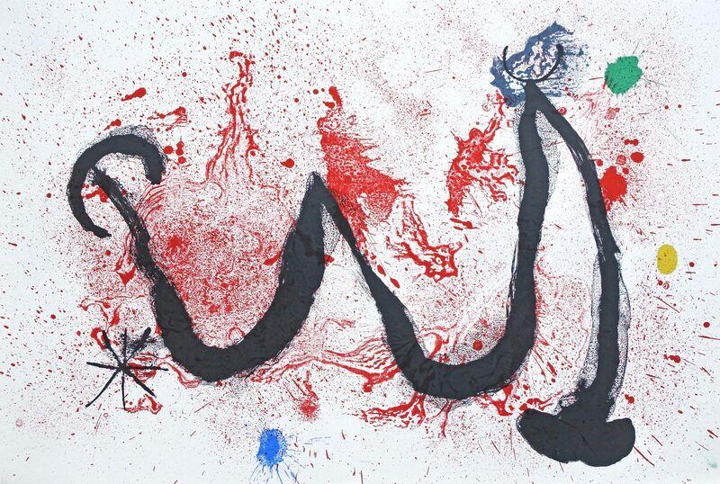 Joan Miró, 'Danse de Feu', 1963, Print, Color lithograph, Hans den Hollander Prints