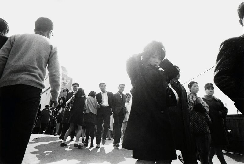 "Yutaka Takanashi, 'West Exit Square, Shinjuku Station, Shinjuku-ku, from the series ""Toshi-e""', 1965, Photography, Gelatin silver print, printed later, PRISKA PASQUER"