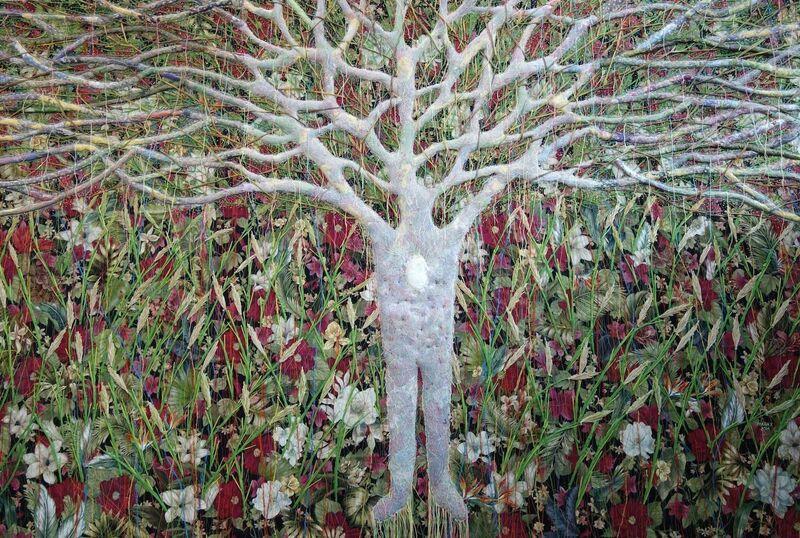Raffy T. Napay, 'Being', 2014, Mixed Media, Multimedia, wool, fabric, cotton thread, Artesan Gallery + Studio
