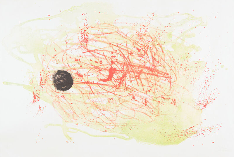 Joan Miró, 'Series I: Red and Green', 1960, Reproduction, Litograph on paper. Ed.2/30, Odalys