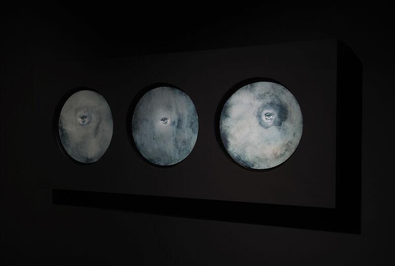 Miloš Todorović, 'Graziella', 2021, Painting, Oil on canvas, 3D sound by Augustine Leudar, Aria Art Gallery