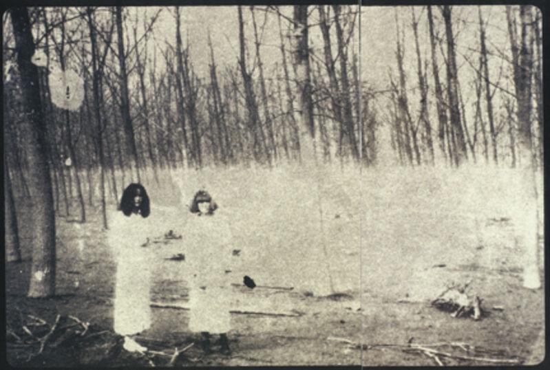 Deborah Turbeville, 'Women In The Woods: Isabella and Ella in Blumarine, VOGUE Italia, Montova, Italy', 1977, Photography, Gelatin Silver Print, Staley-Wise Gallery