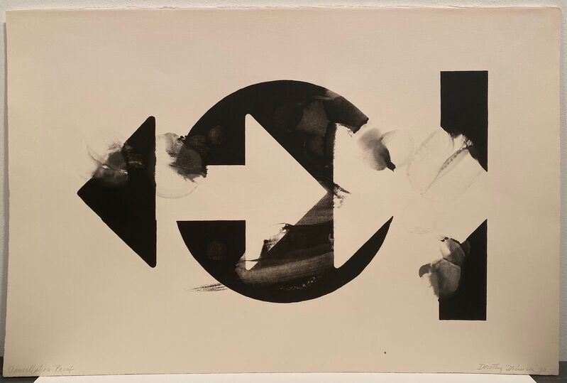 Dorothy Dehner, 'Untitled', 1970, Print, Lithograph on Arches paper, Anders Wahlstedt Fine Art