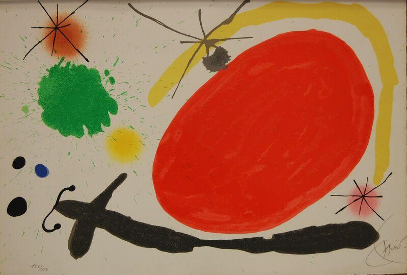 Joan Miró, 'La Japonaise (Japanese Woman)', 1971, Print, Color Lithograph on wove paper, Baterbys