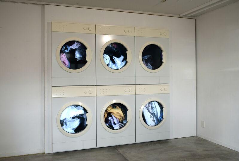 Leandro Erlich, 'Laundry', 2018, Installation, Aluminium, Monitor, FRP, Art Front Gallery