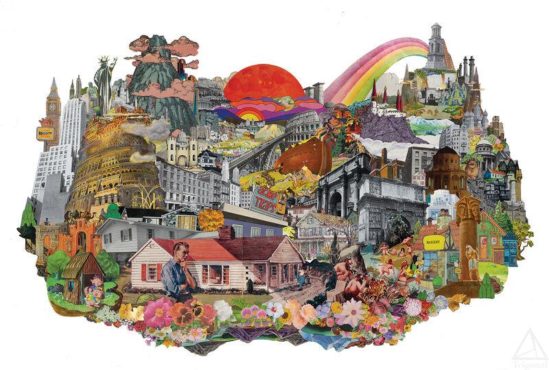 Morgan Jesse Lappin, 'Back At Home - Limited Print', 2021, Print, Ink, Paper, Trigonal