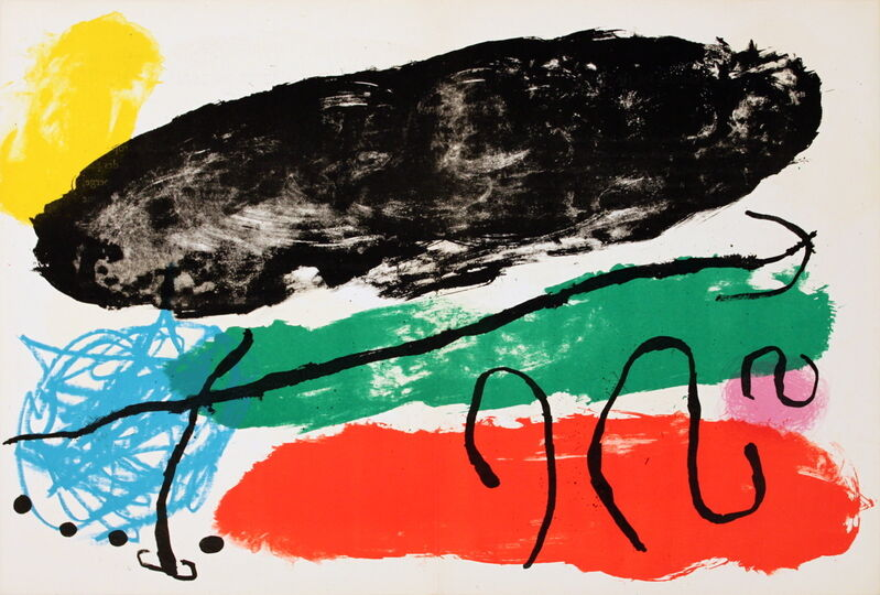 Joan Miró, 'Derriere le Mirroir', (Date unknown), Ephemera or Merchandise, Stone Lithograph, ArtWise
