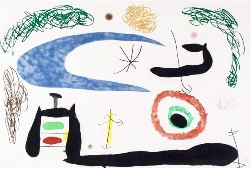 Joan Miró, 'Dormir sous la Lune', 1969, Print, Etching and aquatint printed in colours with carborundum, BOCCARA ART