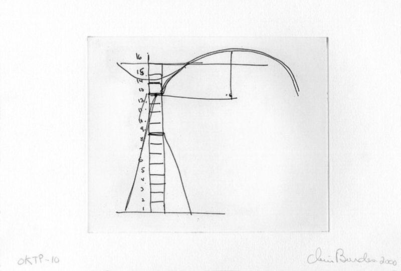 Chris Burden, 'The Master Builder', 2000, Books and Portfolios, Portfolio of 13 photogravure prints with color aquatint, Crown Point Press