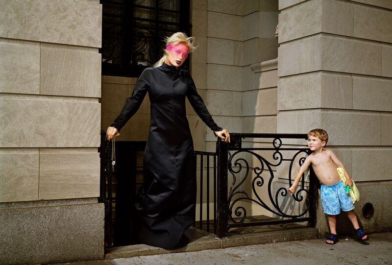 Martin Schoeller, 'Paris Hilton with Pink Veil', 2004, Photography, Archival Pigment Print, CAMERA WORK