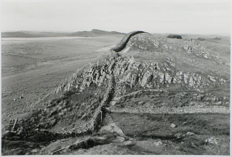 Edward Ranney, 'Hadrian's Wall, Northumberland, England', 1980, Photography, Silver Gelatin Print, photo-eye Gallery