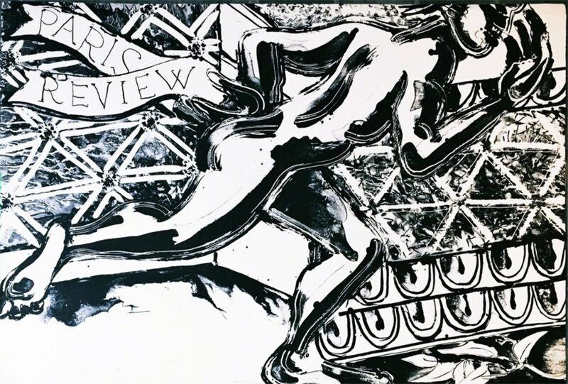 Robert Kushner, 'Paris Review', 1982, Print, Lithograph, ClampArt