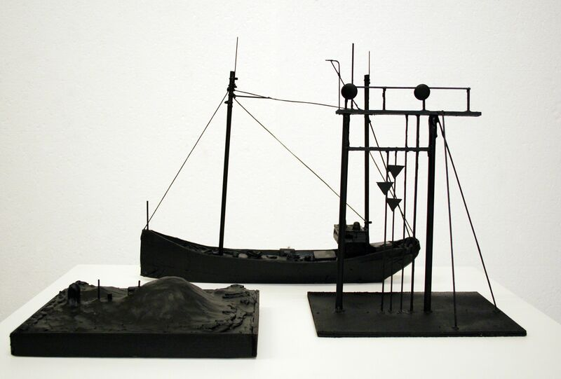 Marcel van Eeden, 'May 17. 1948 (4)', 2013, Drawing, Collage or other Work on Paper, Wood, cardboard, plastic, acrylic, hot glue, clay,   metal, cord, duct tape, Galerie Bob van Orsouw