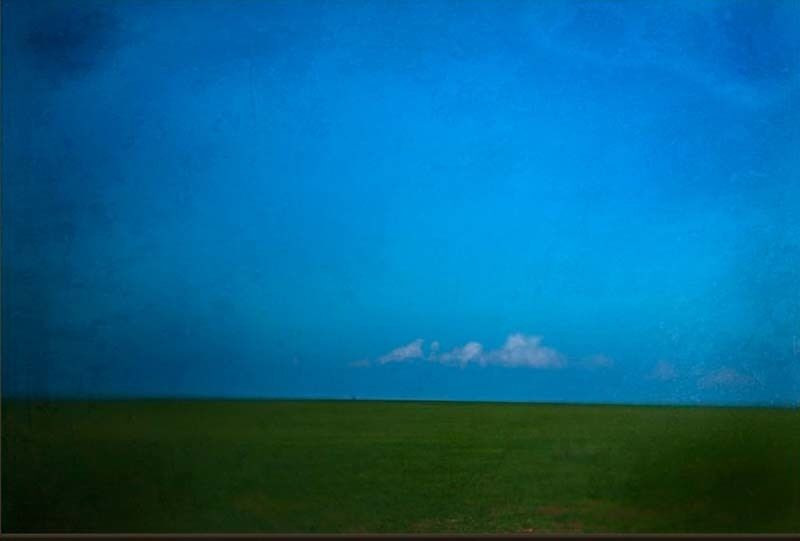 Jack Spencer, 'West Texas Spring', 2004, Photography, Archival Pigment Print with Mixed Media Glaze, Contessa Gallery