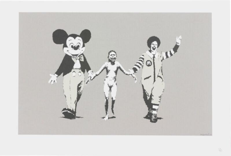 Banksy, 'Napalm', 2004, Print, Screen-print in colors on wove paper, MoonStar Fine Arts Advisors