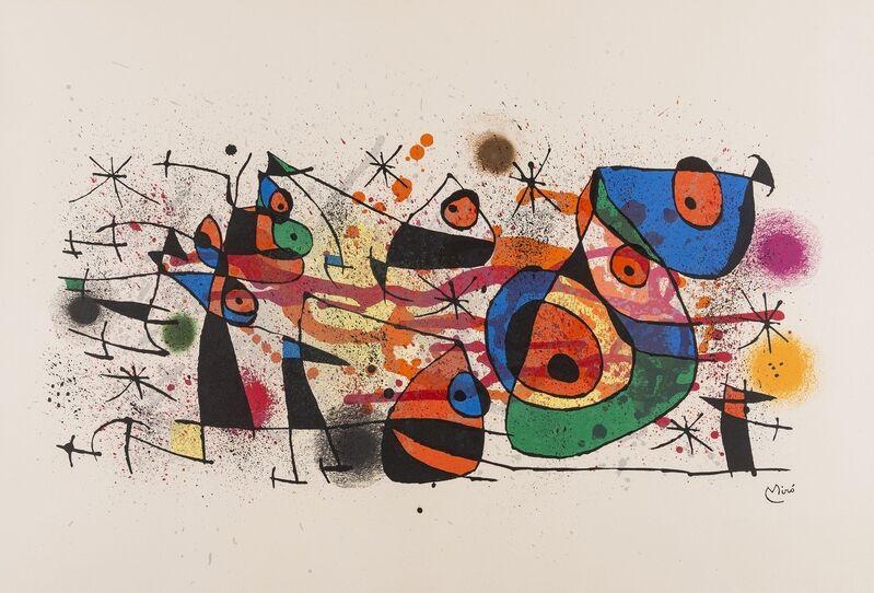 Joan Miró, 'Céramiques (Mourlot 928)', 1974, Print, Lithograph printed in colours, Forum Auctions