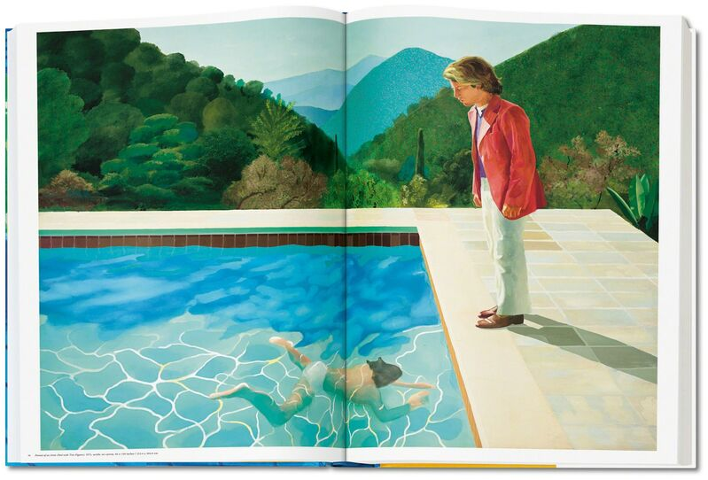 David Hockney, 'David Hockney. A Bigger Book', 2016, Books and Portfolios, Hardcover, 50 x 70 cm (19.6 x 27.5 in.), 498 pages, 13 fold-outs, with an adjustable bookstand designed by Marc Newson, plus an illustrated 680-page chronology book, TASCHEN