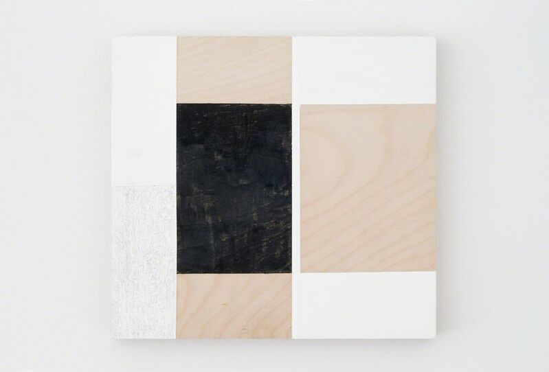 Alan Johnston, 'Untitled', 2015, Painting, Acrylic, pencil, charcoal beeswax and fixative on wood, Bartha Contemporary