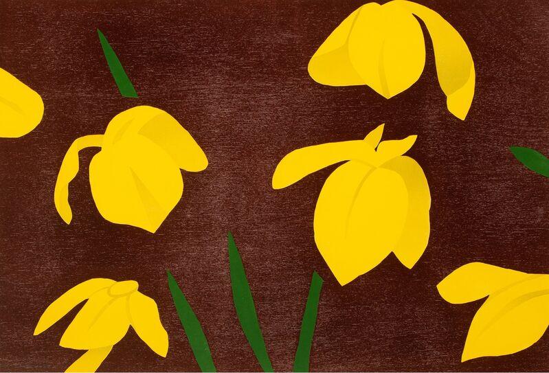 Alex Katz, 'Yellow Flags', 2013, Print, Woodcut in colors on Rives paper, Zeit Contemporary Art